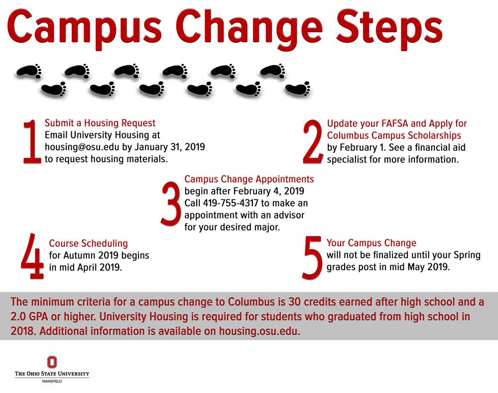 Academic Calendar Osu.Campus Change The Ohio State University At Mansfield